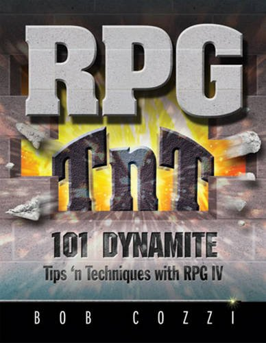 RPG TnT: 101 Dynamite Tips 'n Techniques with RPG IV by Mc Press