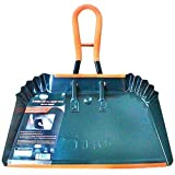 industrial dust pan - Jumbo Metal Dust Pan with Grip - 17 inch Size