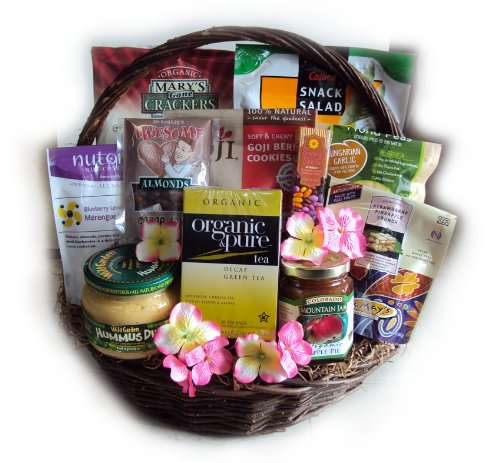 Healthy Mother's Day Gift Basket by Well Baskets by Well Baskets