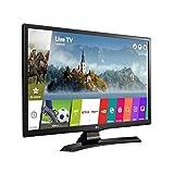 "LG 24MT49DF-PU Televisor 24"", Resolución 1366 X 768, HDMI, USB, Color Negro"