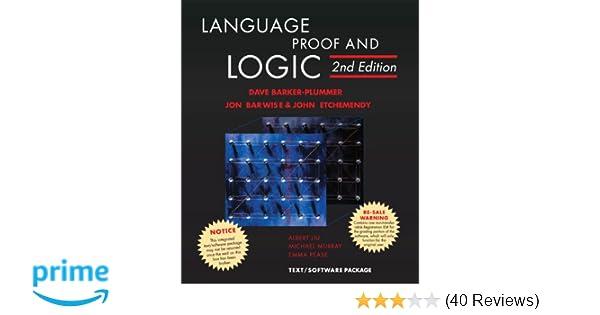 Amazon language proof and logic 2nd edition 9781575866321 amazon language proof and logic 2nd edition 9781575866321 david barker plummer jon barwise john etchemendy books fandeluxe Image collections