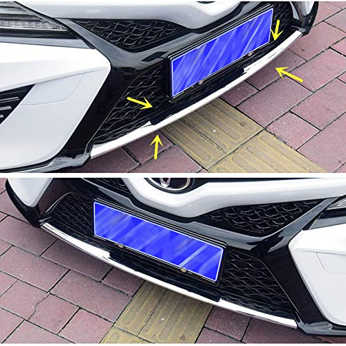 ZiWen Sport Style Front Bumper Lip Moudling Cover Trim for Toyota Camry 2018 (SE XSE Center Lip)
