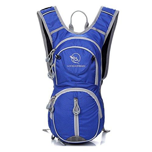 morral al aire libre/Mochila ciclismo/bolso femenino/casco Mochila/Deportes pequeña mochila/bolsa de Casual Male/bolso del alpinismo-D F