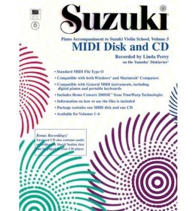 Suzuki Violin School, Vol 5 : General MIDI Disk CD-ROM(CD-Audio) - 2002 Edition ePub fb2 book