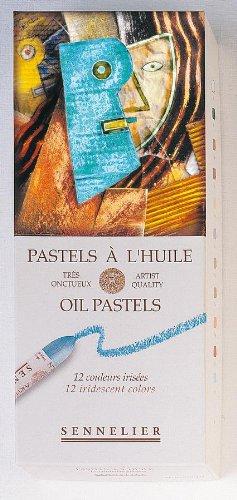 Sennelier Oil Pastel Sets iridescent colors