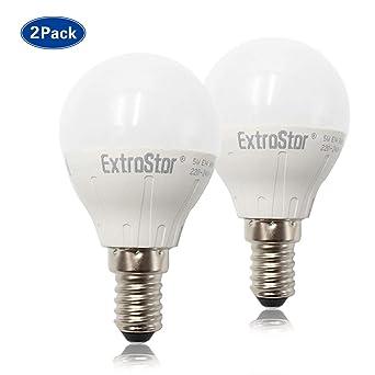 EXTRASTAR Bombilla LED de 5 W E14 (repuesto para foco halógeno de 40 W)