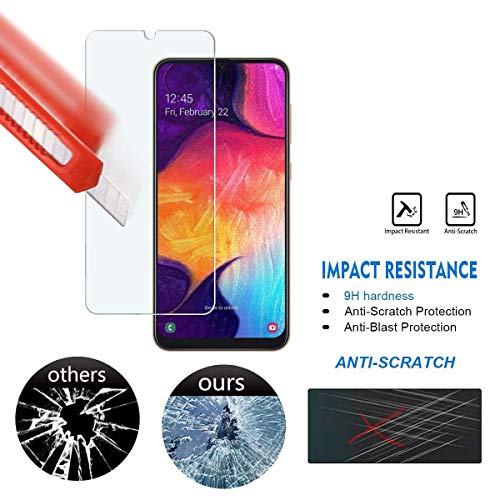 BLU Vivo XL5 Screen Protector, BLU V9 Screen Protector [3-Pack] Tempered Glass [ Scratch-Resistant ] - http://coolthings.us