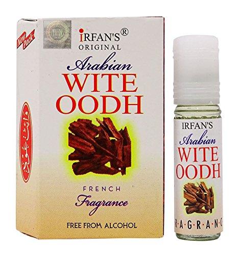 White Oudh French Fragrance Arabian Perfume Oil - 4 ml by IRFAN'S