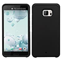MyBat Cell Phone Case for HTC U Ultra - Black/Black