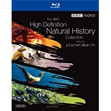 The BBC High Definition Natural History Collection (Planet Earth / Wild China / Galapagos / Ganges) [Blu-ray] (2008)