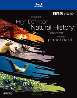 The BBC High-Definition Natural History Collection (Planet Earth / Wild China / Galapagos / Ganges) [Blu-ray] (B0019MG35O) | Amazon price tracker / tracking, Amazon price history charts, Amazon price watches, Amazon price drop alerts