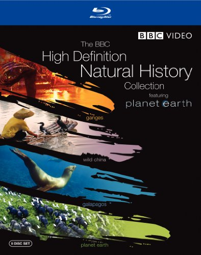 (The BBC High Definition Natural History Collection (Planet Earth / Wild China / Galapagos / Ganges) [Blu-ray])
