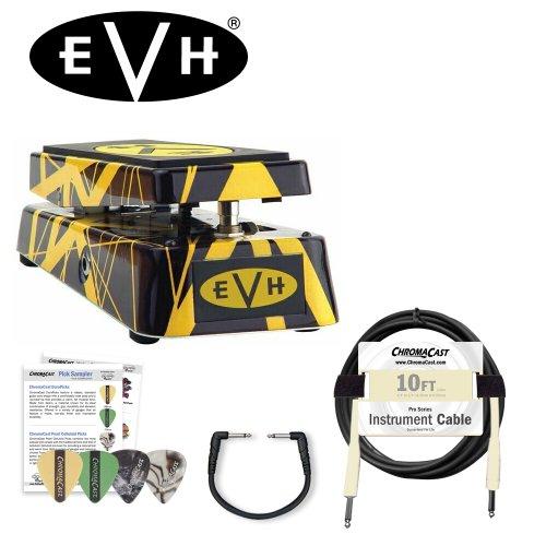 Van Mxr Eddie Dunlop - MXR EVH95 Eddie Van Halen Signature Wah Kit - Includes: Planet Waves Patch Cable, 10ft Cable & Pick Sampler!