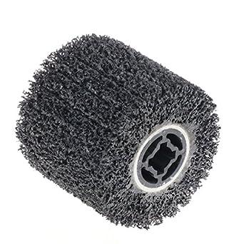 Limpia almohadilla de pulido ruedas para burnishing máquina bruñidor de carburo de silicio rueda zironcia rueda rueda abrasiva para Metabo Bluerock roox ...