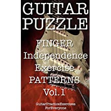 GUITAR PUZZLE finger independence exercise patterns Vol.1