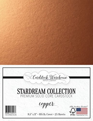 12 x 12 Premium 100 LB Cover 25 Sheets from Cardstock Warehouse Brown Kraft Recycled Cardstock