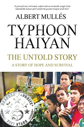 Book review of Typhoon Haiyan, the Untold Story - Readers' Favorite
