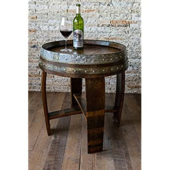Amazon Com Wine Enthusiast Wine Glass Cork Catcher Accent Table Holds 500 Corks Home Amp Kitchen
