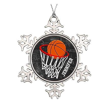Personalizado Pizarra baloncesto y aro de cerámica adorno de ...