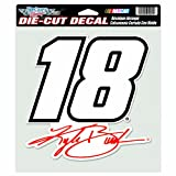 NASCAR Kyle Busch Diecut Colored Decal