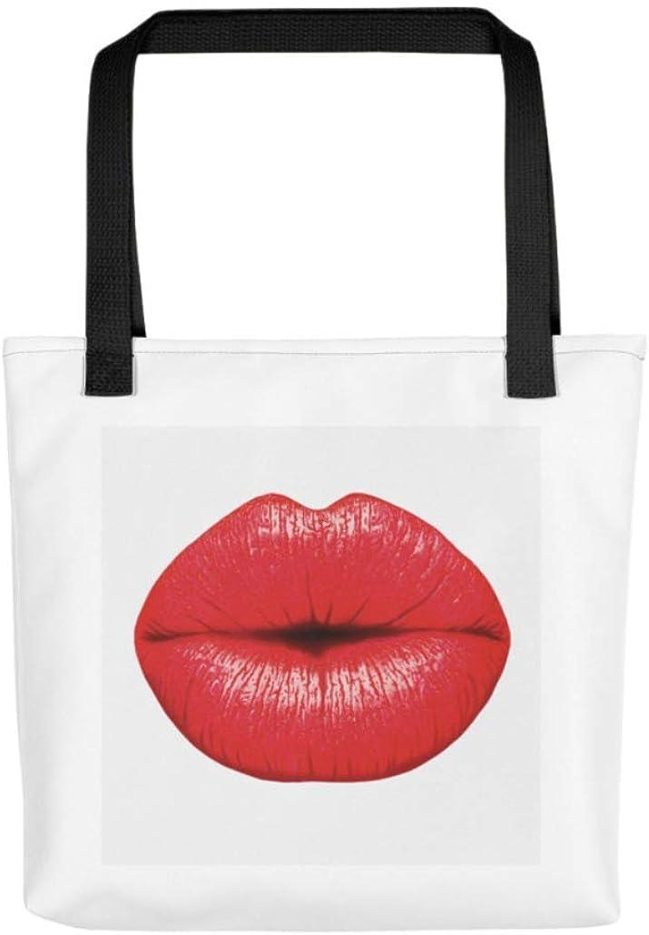 Fabulous BIG RED LIPS Tote Bag