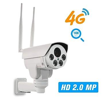 1080P 4G Cámara IP inalámbrica 5-50mm Lente de Enfoque automático ...