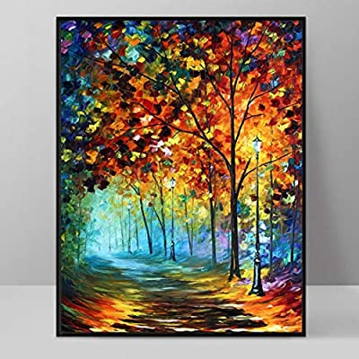 Lwxxxa Abstract Oil Painting Canvas Hd Print Famous Monet