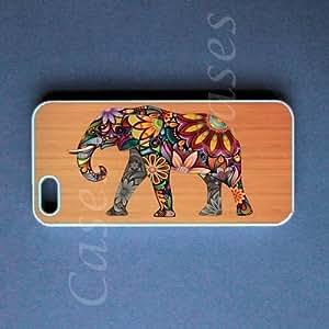 diy phone caseipod touch 4 Case - Elephant on Wood ipod touch 4 Coverdiy phone case