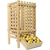 Resserre à pommes de terre en bois grand modèle 50 Kg