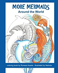More Mermaids Around the World (Adult Coloring Book) (Volume 2)
