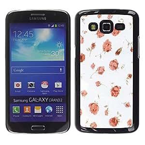 - Wisedeal Retro Stripe Flower - - Fashion Dream Catcher Design Hard Plastic Protective Case Cover FOR Samsung Galaxy Grand 2 Retro Candy