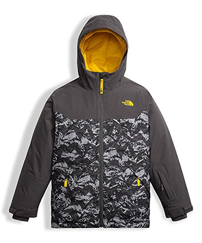 The North Face Big Boys' Brayden Insulated Jacket - graphite grey, l/14-16 by The North Face (Image #2)