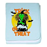Royal Lion Baby Blanket Halloween Trick or Treat Witch - Sky Blue