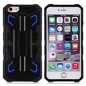 DD Plastic Unbreak Sports Design Cases for iPhone 6 Plus , White
