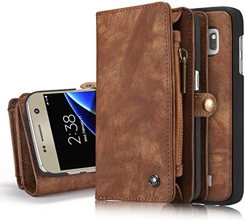 Leather wallet phone case iPhone 6/iPhone 6S/iPhone 6 Plus/iPhone 6S Plus/iPhone 7/iPhone 7 Plus/Samsung S7 Edge/S7