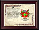 Lugo Coat of Arms/ Family Crest on Fine Paper and Family History