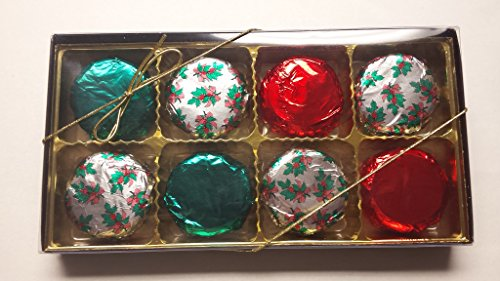 Chocolate Covered Oreo 8 piece set HOLIDAY FOIL WRAPPED party gifts office party Christmas Party