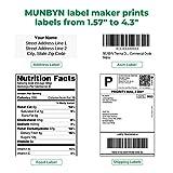 MUNBYN Thermal Label Printer 4x6, High-Speed