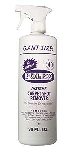 Folex Value Size Instant Carpet Spot Cleaner, 36 fl. oz.