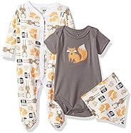 Hudson baby Unisex-Baby Multi Piece Clothing Set