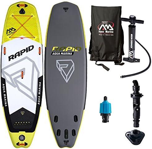 [해외]AQUA MARINA (아쿠아 마리나) SUP 풍선 스탠드 업 패 들 보드 RAPID BT-18RP / AQUA MARINA SUP Inflatable Stand-Up PaddleBoard RAPID BT-18RP