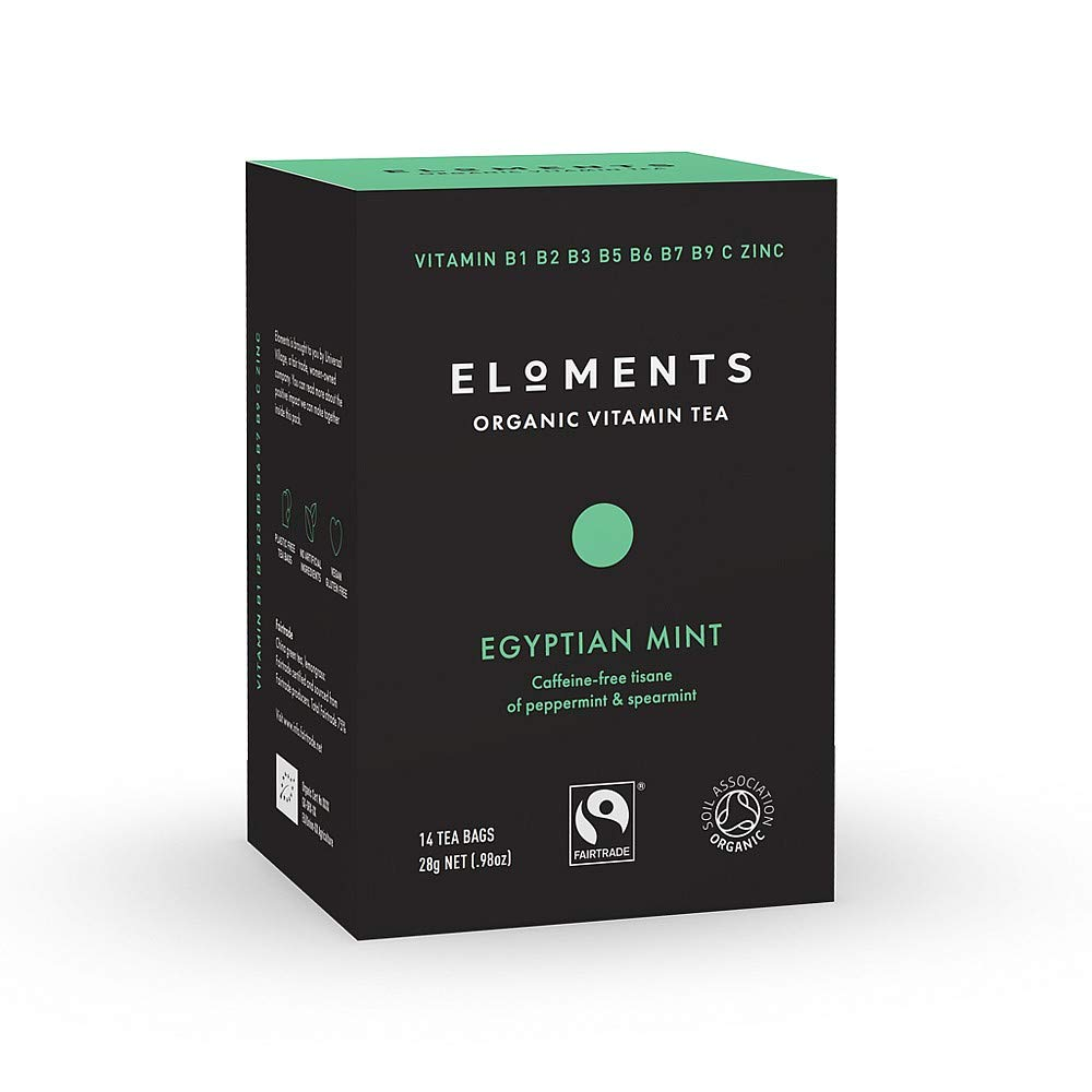 Eloments Egyptian Mint Vitamin Tea (14 Bags)