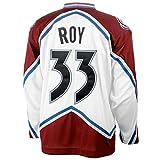 Men's Colorado Avalanche Patrick Roy #33 CCM White Heroes of Hockey Alumni Jersey M