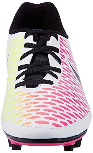Nike Magista Ola Fg, Botas de Fútbol para Hombre Blanco (Blanco (White/Black-Pink Blast-Volt))