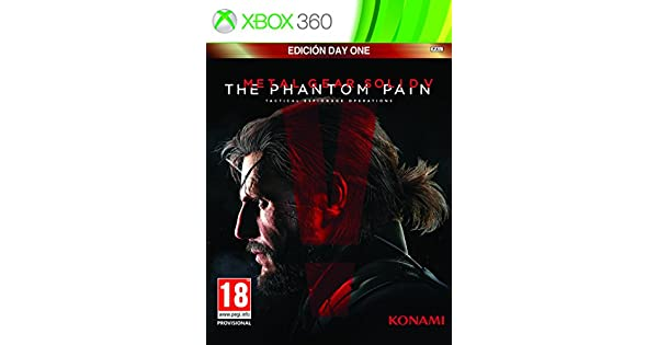 Metal Gear Solid V: Phantom Pain - Day One Edition: Amazon.es ...