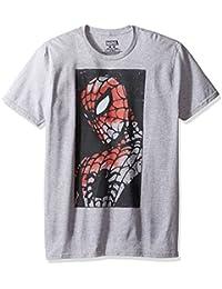 Marvel Men's Multi Venom Logos on a Short Sleeve Graphic T-Shirt