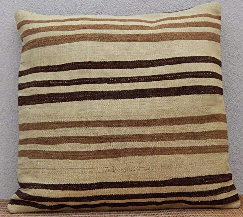 Large Woven Oushak Pillowcase Area Rug