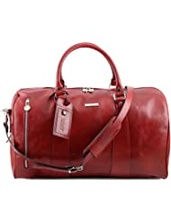 Tuscany Leather TL Voyager Travel leather duffle bag - Large size