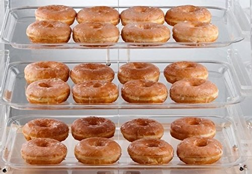 Premier Choice 3 Tray Bakery Display Case with Doors Length: 21 X Width: 17 3/4 Inchesx Height: 16 1/2 Inches by Premier ()
