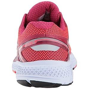 Saucony Women's Omni 16 Running Shoe, Berry Coral, 8 Medium US